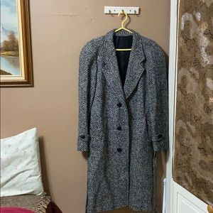 Givenchy Monsieur three button wool coat